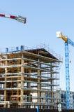 House exterior in construction Stock Photos
