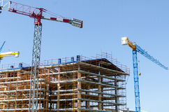 House exterior in construction Stock Photography