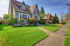 House exterior with curb appeal Royalty Free Stock Image