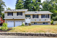 House exterior in Federal Way, WA Royalty Free Stock Photos
