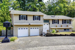 House exterior in Federal Way, WA Stock Photography