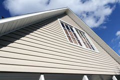 House exterior, roof close-up. Stock Photography