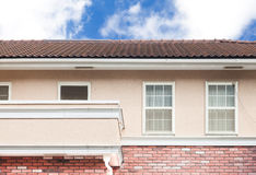 House exterior wall and window Stock Photography