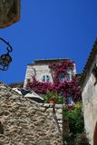 House in Eze stock photography