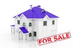 house försäljningen Arkivbilder