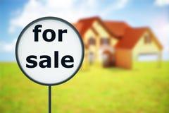 house försäljningen royaltyfri illustrationer
