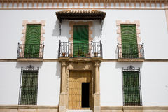 House Facade in Andalusia Stock Photos