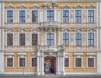 House facade, Dresden, Saxony Germany Stock Photography