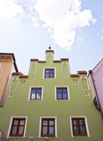 House facade in Landshut, Germany Stock Photo
