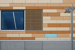 House facade and lantern Royalty Free Stock Photo