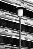 House facade and lantern Stock Photography