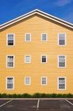 House facade. Part of building exterior - House facade Royalty Free Stock Photography