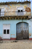 House facade in Trinidad Royalty Free Stock Images
