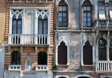 House facade, Venice Stock Image