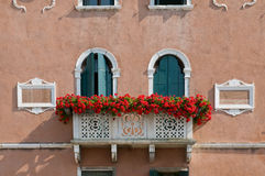 House facade in Venice stock image