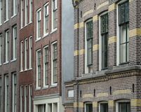 House facades in Amsterdam Stock Photo
