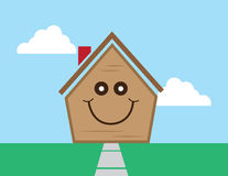 House Face Happy Royalty Free Stock Photos