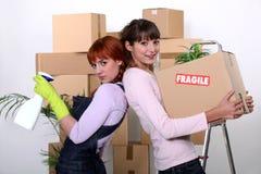House fairies. Royalty Free Stock Image