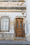 House fassade. In Portugal close to Tavira Royalty Free Stock Photography