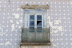 House fassade. With tiles in Portugal close to Tavira Royalty Free Stock Images