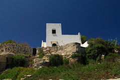 House in Favignana Isle Stock Images