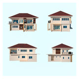 House Figure isolated Royalty Free Stock Image