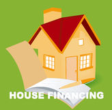 House Financing stock photo