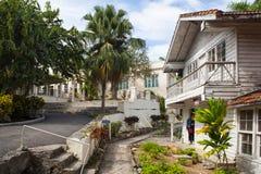House Finca Vigia where Ernest Hemingway lived from 1939 to 1960. Havana, Cuba - February 2,2017: House Finca Vigia where Ernest Hemingway lived from 1939 to Royalty Free Stock Photos