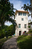 House Finca Vigia where Ernest Hemingway lived from 1939 to 1960. Havana, Cuba - February 2,2017: House Finca Vigia where Ernest Hemingway lived from 1939 to Royalty Free Stock Image