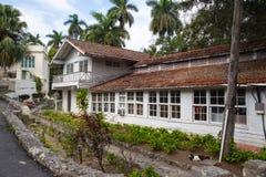 House Finca Vigia where Ernest Hemingway lived from 1939 to 1960. Havana, Cuba - February 2,2017: House Finca Vigia where Ernest Hemingway lived from 1939 to Royalty Free Stock Images