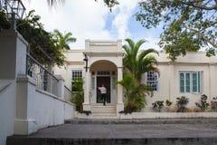 House Finca Vigia where Ernest Hemingway lived from 1939 to 1960. Havana, Cuba - February 2,2017: House Finca Vigia where Ernest Hemingway lived from 1939 to Royalty Free Stock Photography