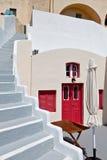 House at Fira city of Santorini island, Greece Royalty Free Stock Image