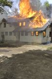 House Fire Royalty Free Stock Photography