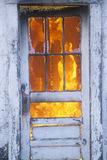 House on fire Royalty Free Stock Photography
