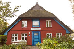 House in Fischland Stock Images
