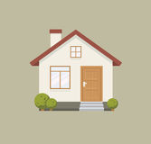 House flat icon Stock Photography