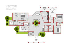 House floor plan Stock Photography
