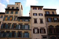 House in Florence. Houses in Florence Italy, Europe Stock Image