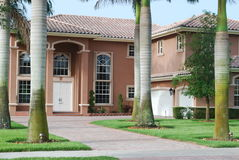 House in Florida Royalty Free Stock Images