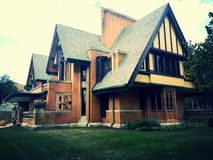 House. Flw street view Royalty Free Stock Photo