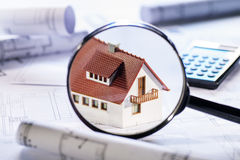 House in focus Royalty Free Stock Photo