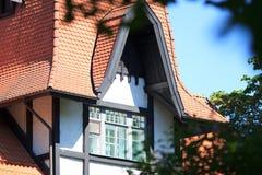 House through foliage Stock Photography