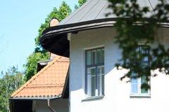 House through foliage Royalty Free Stock Image