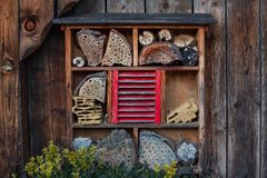 Free House For Insects - Insect Hotel Stock Images - 107999674