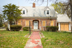 House in Foreclosure Stock Photos
