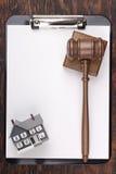 House Foreclosure Stock Photo