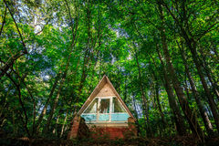 House in forest Royalty Free Stock Images
