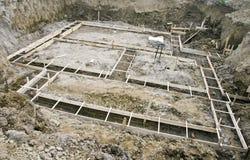 House foundations Stock Image