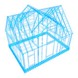 house frame design Royalty Free Stock Images
