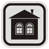 House, frame Royalty Free Stock Image